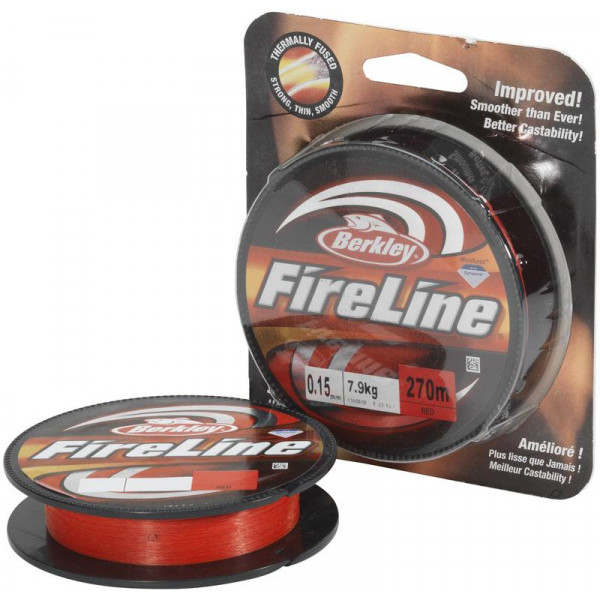 Berkley FireLine Red 0,12mm (270m)