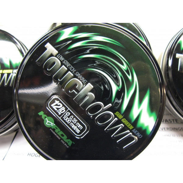 Korda Touch Down Sub Brown 0.40mm (1000m)