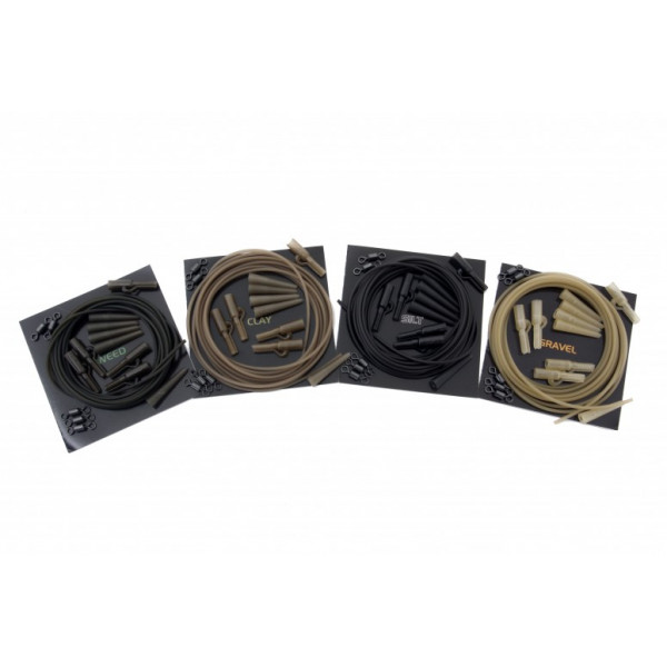 Korda Lead Clips and Action Pack Clay - Action pack