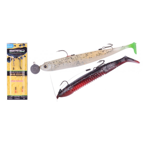 Spro Pike Fighter One-Touch Fine Stinger 5,5cm 010