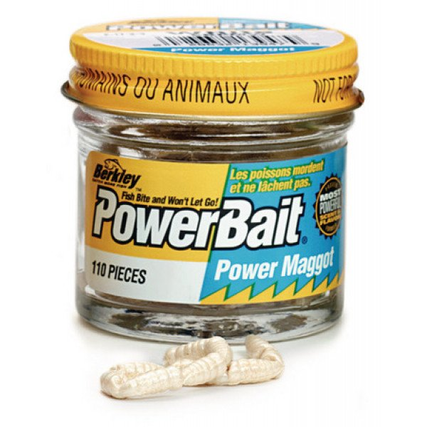 Berkley Powerbait Micro Power Maggots Yellow (110st)