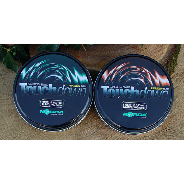 Korda Touch Down Sub Brown 0.30mm (1000m)