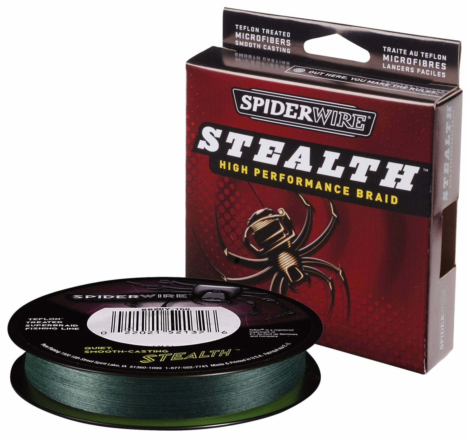 SpiderWire New Stealth Moss Green 0,14mm (270m)