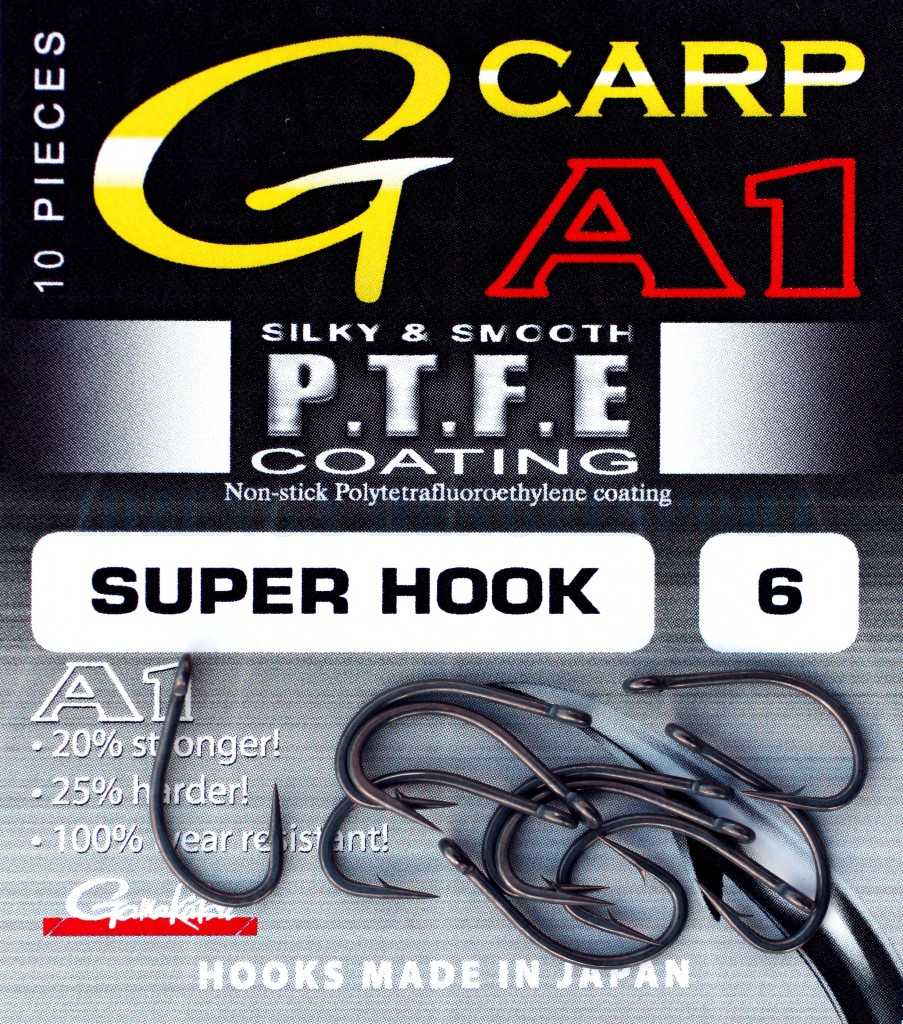 Gamakatsu A1 Super Hook Ptfe Coated 6 10 Stuks